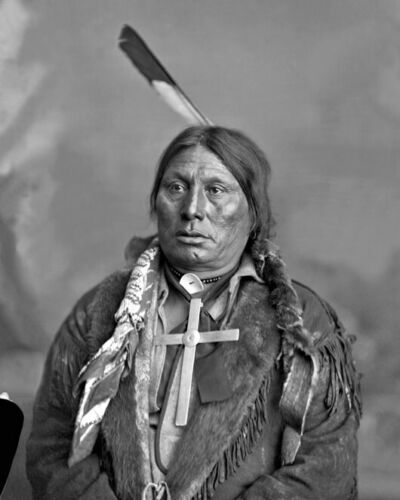 Native American Indian Leader GALL Glossy 8x10 Photo Lakota Sioux Print Poster