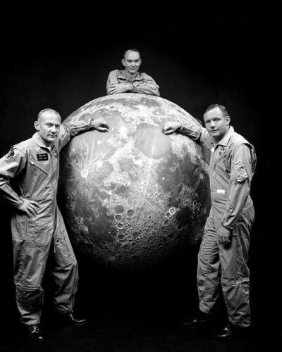 Apollo 11 BUZZ ALDRIN, NEIL ARMSTRONG MICHAEL COLLINS 8x10 Photo Moon Astronauts
