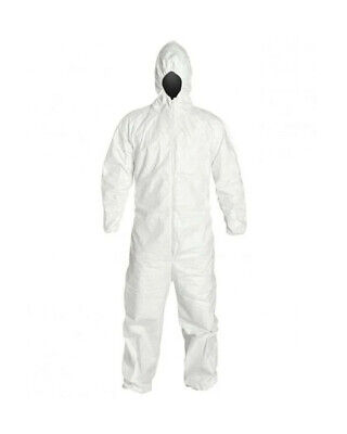 Promax Ii Disposable Coveralls Zip Front W Hood Elastic Wrists And Boots