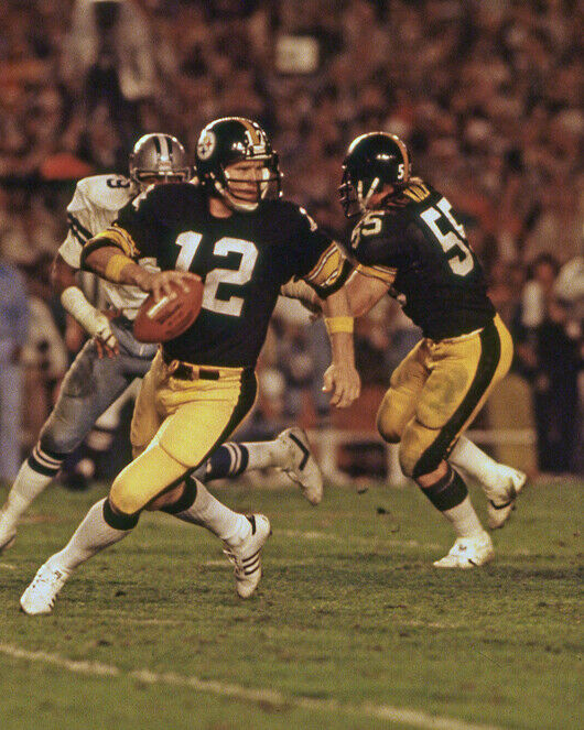 Pittsburgh Steelers TERRY BRADSHAW Glossy 8x10 Photo Print F