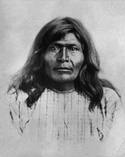 Native American Indian VICTORIO Glossy 8x10 Photo Apache Chief Print Poster