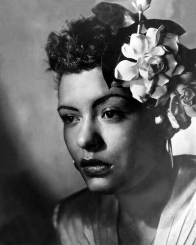Jazz Singer BILLIE HOLIDAY Glossy 8x10 Photo Print Songwriter Poster