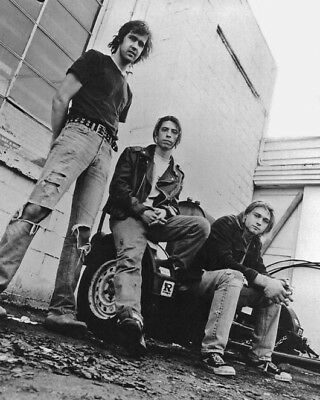 Rock Band NIRVANA Glossy 8x10 Photo KURT COBAIN Print Poster