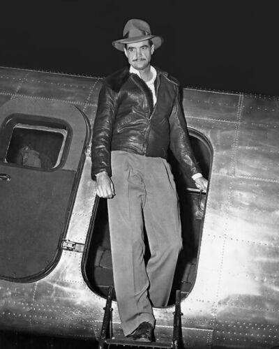 American Aviator HOWARD HUGHES Glossy 8x10 Photo Print Airplane Poster