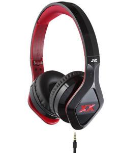 Brand New JVC XX Elation (HA-SR100X-B) XTREME BASS Headphones -H