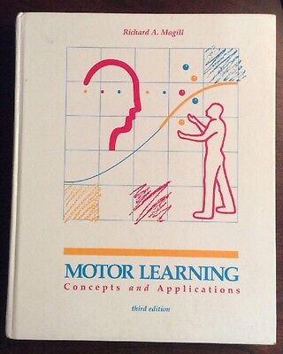 Motor Learning Concepts And Applications 1989 Hardback Magill Preownedbook Com