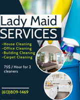 Cleaning maids services (Commercial & Business) 613-809-1469