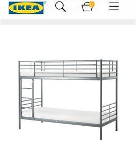 Twin Bunk bed frame Ikea SVÄRTA