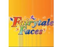 Fairytalefaces face painting