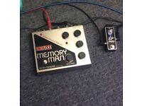 Electro Harmonix Deluxe Memory Man - Guitar Pedal - Delay/Chorus/Vibrato