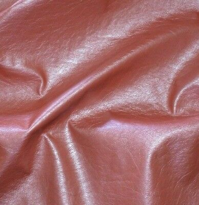 Coral Color  Faux Leather Middle Weight 55