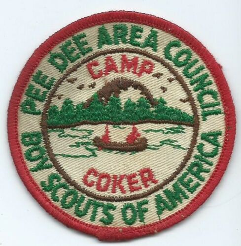 1962? Camp Coker Patch, Pee Dee Area Council, SC