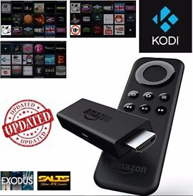 Amazon Fire TV stick loaded with KODI * Mobdro and more