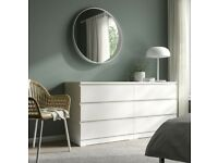 Malm Chest of 6 Drawers White