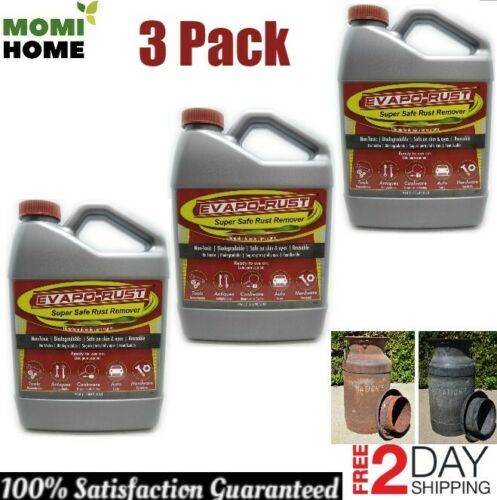 Evapo-Rust Super Safe Rust Remover Water Based Non Toxic Biodegradable 3 PACK
