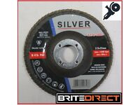 Flap disc 115 4,5' Grit 36 40 60 80 120 disc sander abrasive angle grinder grinding wheel wood metal