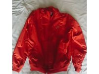 Red Nike 'Be True To Your School' Jacket