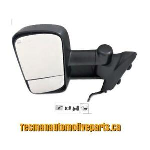 Towing mirrors trailer tow mirrors for Chevy Silverado GMC Sierra 2007 - 2013 Driver side