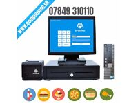 """Complete ePOS solution, 15"""" touch screen system, Fast Food, Restaurant, Retail"""