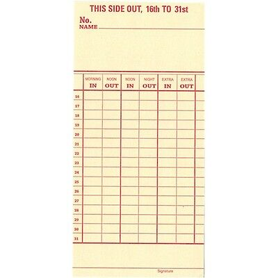 FREE SHIPPING IN USA Acroprint 125 Time Clock Ribbon aka 200106002 MADE IN USA