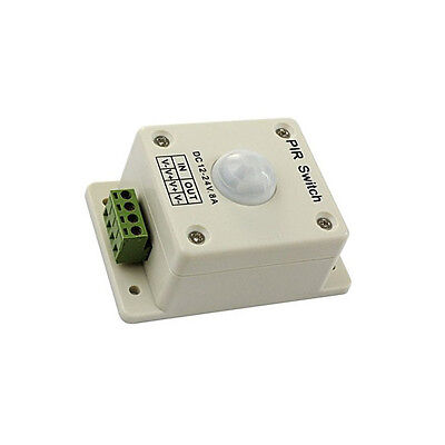 Pir Switch 8a Pir Motion Sensor Dc 12-24v For Led Strip Light Bulb Infrared L