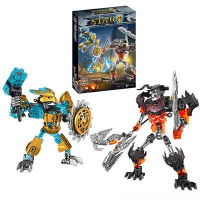 Bionicle Mask Maker vs.Skull Grinder Model Building Bricks Gift For Boys Kids](Kids Skull Mask)