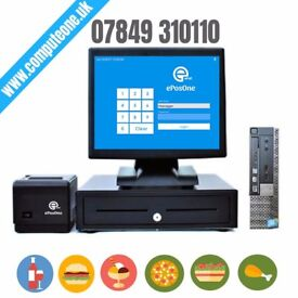 """15"""" touch screen, complete epos system"""