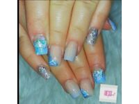 Acrylics From £20-Mobile or Come to Home Salon
