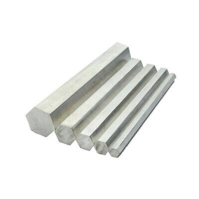 304 Stainless Steel Hex Bar Shaft Rod 200330500mm Long Spanner Diameter 822mm