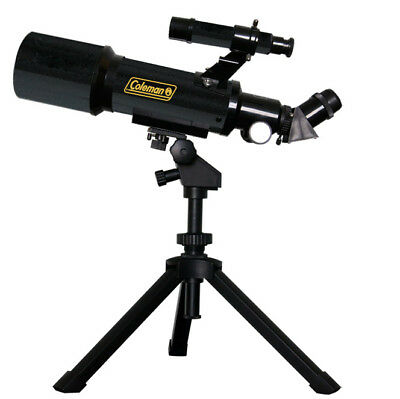 Coleman AT70 AstroWatch Portable 70mm Refractor Telescope - 400x70mm