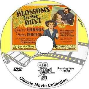 Blossoms in the Dust - Greer Garson, Walter Pidgeon DRAMA 1941 DVD
