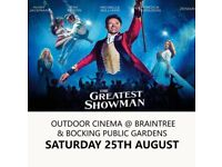 2X SOLD OUT TICKETS - THE GREATEST SHOWMAN - OUTSIDE CINEMA - ESSEX