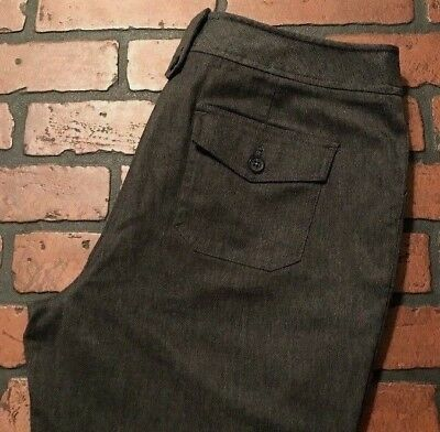 New York And Company City Twill Broadway Trouser Dark Gray Size 12 - Party City Broadway