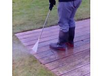 Pressure washing, Drives, Patios, Decking. From £1 per sq metre