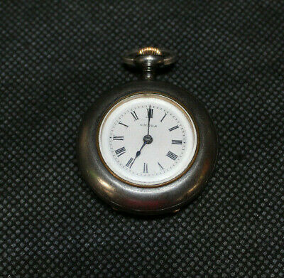 Vintage Omega 15 Jewel Small Face Pocket Watch! Needs Work! Late 1890's Model!!!