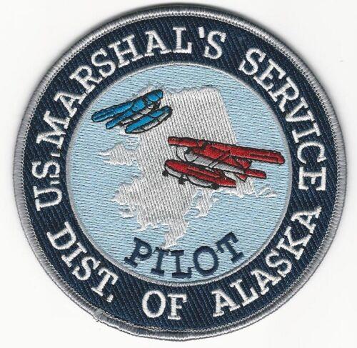 USMS US Marshal Pilot State Alaska AK Police Sheriff Bush planes