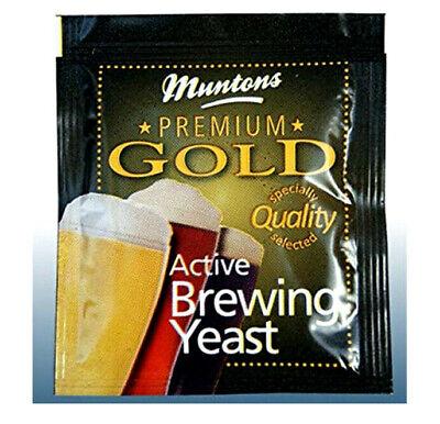6 Grams Active Brewing Yeast Muntons Premium Gold Yeast Beer Making Gold Premium Yeast