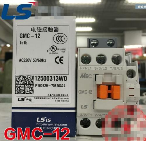 NEW LS LG Industrial Systems MEC AC contactor GMC-12 220 free shipping