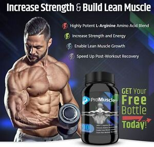 BUILD YOUR MUSCLE WITH PRO MUSCLE