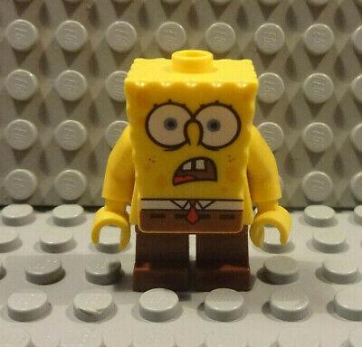 (A6/4 - 5) Lego 1x bob007 Spongebob Mini Figurine from Set 4981 Used KG
