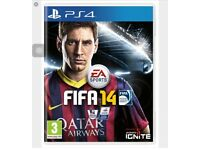 FIFA14 GAME PS4 FOR SALE