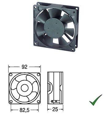 Ventola di Raffreddamento Ventilatore 24V su Bronzine 92x92x25mm