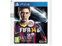 FIFA14 GAME PS4