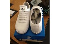 White adidas originals