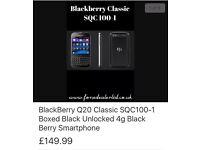 Blackberry Q20 classic sqc 100-1