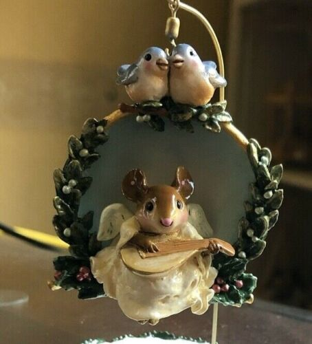 Wee Forest Folk Co-01  Christmas Angel Ornament