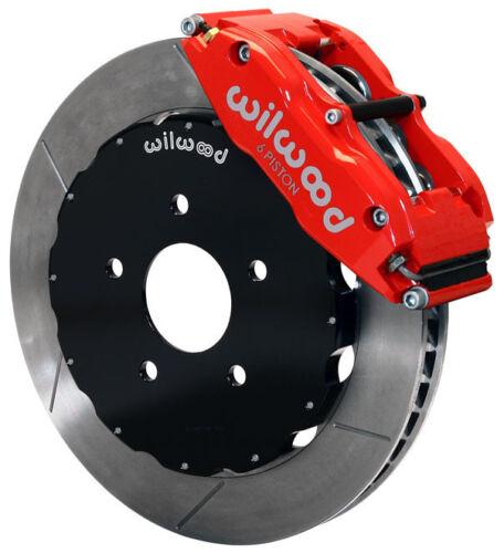 "Wilwood Disc Brake Kit,front,2006-2012 Honda Civic,cr-z,13"" Rotors,red Calipers"