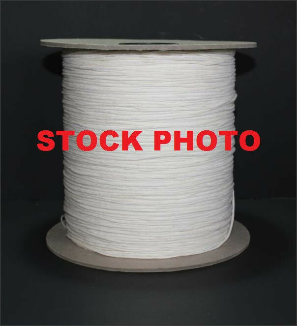 10 YARDS OF SQUARE BRAIDED COTTON CANDLE WICK 2/0 - SPOOL NOT INCLUDED