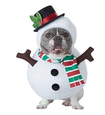 Snowman Dog Costume for Pet Dog Puppy - Dog Costumes For Christmas
