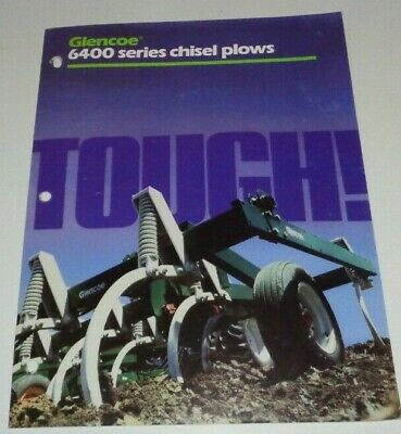 *Glencoe 6400 Series Chisel Plow Sales Brochure Models 6410 thru 6440 -